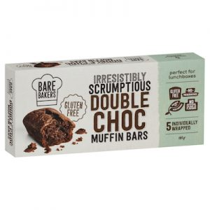 IRRESISTIBLY SCRUMPTIOUS DOUBLE CHOC MUFFIN BARS